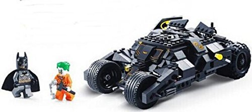 Marvel Super Heroes Batman Chariot Tumbler Building Blocks Decool 7105 Joker Bricks toys Compatible with Lego minifigures (No Original Box) by Vitavus [並行輸入品]