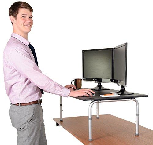 42 Wide Adjustable Height Standing Desk Convert Your