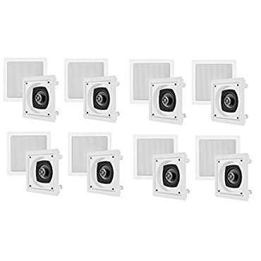 16 VM AUDIO Shaker 4 In Ceiling/In Wall Theater Surround Speakers Contractor