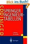 Springer Ingenieurtabellen