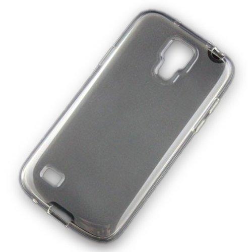 Mavis's Diary 0.5mm Dünn Samsung galaxy S4 Mini Hülle Silikon Transparent Schutzhülle Rückseite Schale Tasche Etui Soft Case hülle hüllen Protection Case protective cover handytasche zubehör für Samsung Galaxy S4 S IV Mini I9190 I9192 I9195 Weiß