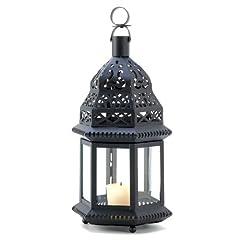 Gifts & Decor Moroccan Ornate Metalwork Birdcage Candleholder Lantern