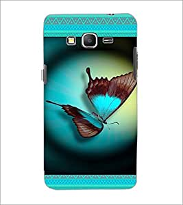 PrintDhaba Butterfly D-4644 Back Case Cover for SAMSUNG GALAXY GRAND PRIME (Multi-Coloured)