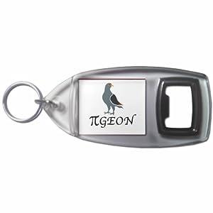 Pi Pigeon - Botella plástica del anillo dominante del abrelatas