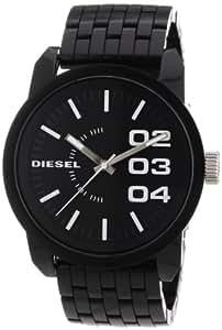 Diesel - DZ1523 - Montre Homme - Quartz Analogique - Cadran Noir - Bracelet Résine Noir