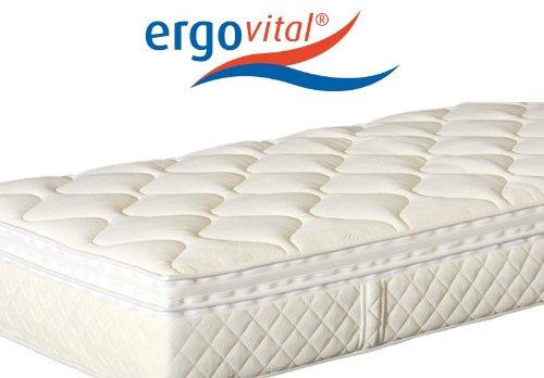 Ergovital Swissplus® Premium-Kaltschaum-Matratze, H2, Größen Matratzen:80 x 200 cm