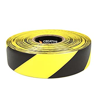 Industrial Floor Marking Tape Yellow Black Industrial Scientific