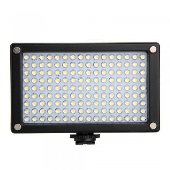 144A Video Light 144 Led Panel Camera Dv Camcorder Lamp Dimmbarb 5600K