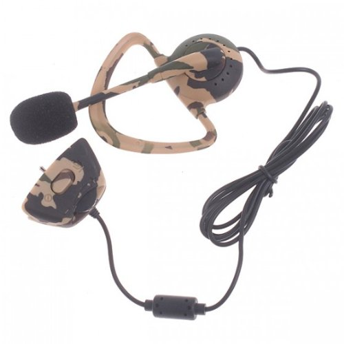 Sky Buddy Headset Earphone Microphone For Xbox 360 1Pc