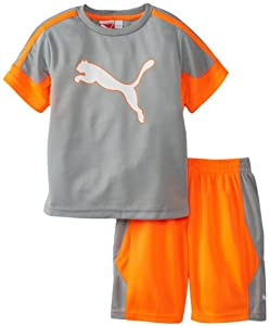 Puma - Kids Boys 2-7 Toddler Outline Set from Puma - Kids