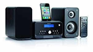 Goodmans MICRO1470DABI CD Micro System with Charging iPhone/iPod Dock and DAB Radio (discontinued by manufacturer)