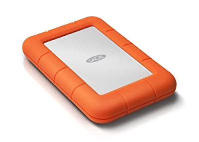 LaCie Rugged Mini USB 3.0/ USB 2.0 500GB Hard Disk Drive - 5400rpm from Lacie