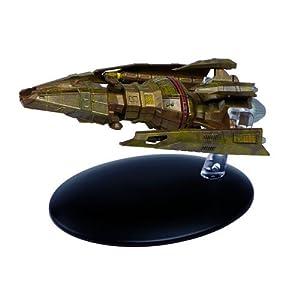 Star Trek Starships Hirogen Hunter Die-Cast Metal Vehicle with Collector Magazine