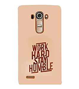 printtech Cool Quotes Success Back Case Cover for LG G4::LG G4 H815