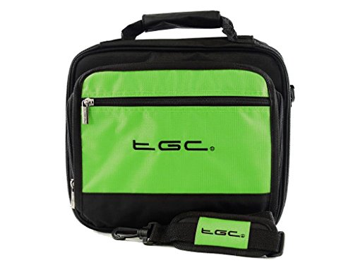 sony-dvp-fx820-r-portable-dvd-player-twin-compartment-case-bag-by-tgc-r-electric-green-black