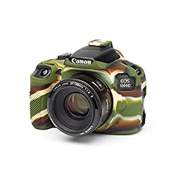easyCover EA-ECC1300DC Silicone Case for Canon 1300D / T5 - Camouflage