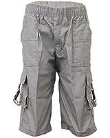 Boys Shorts Kids Cargo Combat 3 4 Comfortable Casual Lightweight Summer Fashion