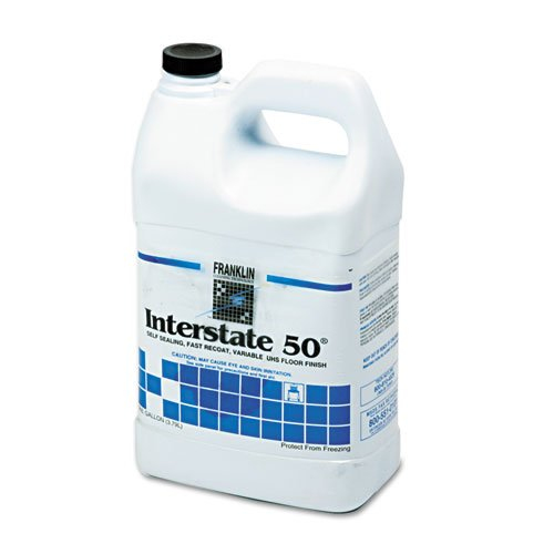 Franklin Cleaning Technology® – Interstate 50 Floor Finish, 1 gal Bottle – Sold As 1 Each – Economical, burnishable/spray buffable finish for high-speed and ultra high-speed maintenance.