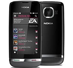 Nokia Asha 311 Dark Grey 4GB included Factory Unlocked International Version PENTA BAND 3G HSDPA 850 / 900 / 1700 / 1900 / 2100 by Nokia