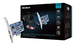AVerMedia DarkCrystal HD Capture SDK (C727) - HD (HDMI/Component) and SD (S-Video/Composite) PCIe Capture Card, up to 1080/i60, with complete SDK for the creation of applications