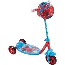 Huffy Marvel Ultimate Spider-Man Boys' 3-Wheel Preschool Scooter