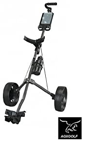 NEW LITE RIDER EASY FOLD GOLF PULL CART w SCORE PAD & WATER BOTTLE by Intech