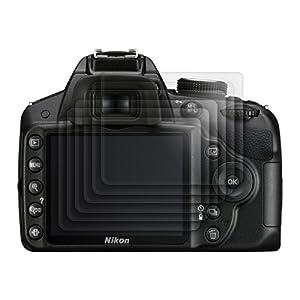 6x kwmobile® film de protection pour écran MAT et ANTI-REFLETS avec effet anti-traces de doigts pour Nikon D3200. QUALITÉ SUPÉRIEURE