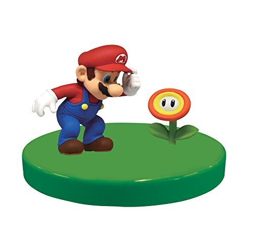 3-D Super Mario Collection Vol.1 Figure~Mario & Fire Flower~26mm - 1