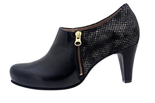 Scarpe donna comfort pelle Piesanto soletta estraibile 5233 scarpe di sera comfort larghezza speciale