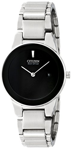 Citizen Eco-Drive Axiom Two-Hand Stainless Steel Women's watch #GA1050-51E