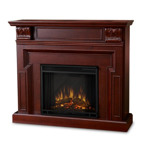 Real Flame Kristine Electric 9500-X-W Fireplace in Antique White - MANTEL ONLY picture B003MNJ8MS.jpg
