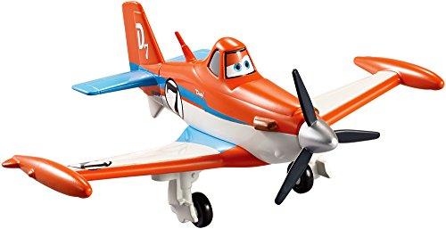 Disney Pixar - Planes - Racer Dusty - Aereo sempre in Azione - Figura 16 cm