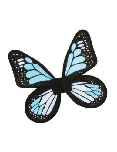 Costume-Accessory Butterfly Wings Satin Adult Costume Blue Halloween Costume Item