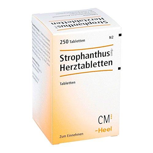 HEEL STROPHANTHUS Comp.herztabletten 250 stk