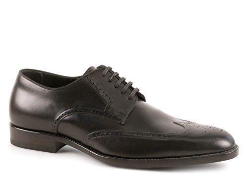 Stringate Saint Laurent derby brogues in pelle nero - Codice modello: 315350 AQS00 1000 - Taglia: 41 EU