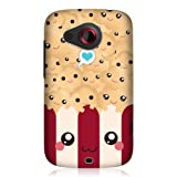 Head Case Designs Kawaii Popsicle Protective Snap On Glossy Back Case for HTC Desire C