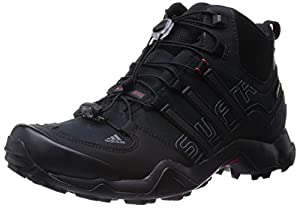 adidas Herren Trekkingschuhe Terrex Swift R Mid GTX core black/vista grey s15/power red 38 2/3