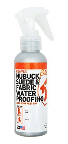 Gear Aid ReviveX Nubuck, Suede & Fabric Water Repellent Spray, 4 Ounce (Waterproofing Spray Boots compare prices)