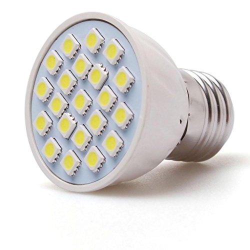 Lqz 4W Super Bright E27 Screw Led Corn Bulb Lamp With 21 X 5050 Smd Leds - 355 Lumens - Pure White - Ac 220V