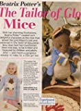 Woman's Weekly Knitting Patterns - Beatrix Potter's the Tailor of Gloucester Mice - Lady Mouse Toy, Gentleman mouse Toy, Child's Mouse Tailor Sweater in Sizes 30.75, 32.75, 35, 37.25 Ins - 78, 83.5, 89, 94.5 Cm - Disbound Leaflet Woman's Weekly
