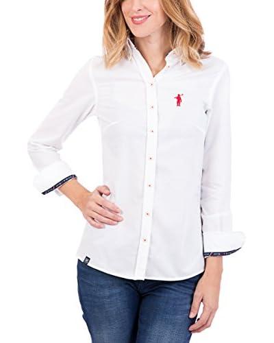 POLO CLUB Camisa Mujer Miss Rigby Oxford Blanco