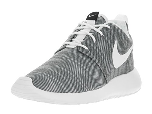 Nike Women's Roshe One Print White/Black/Cool Grey Running Shoe 10 Women US