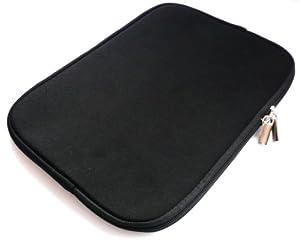 Emartbuy® Black Water Resistant Neoprene Soft Zip Case/Cover suitable for ASUS Transformer Book T100 ( 10-11 Inch eReader / Tablet / Netbook )
