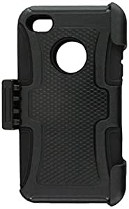 MyBat Frosted Fusion Protector Cover - Retail Packaging - Black