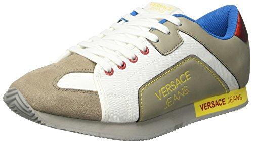 Versace Jeans Scarpe Low-Top, Uomo, Grigio (Grigio Chiaro E807), 45