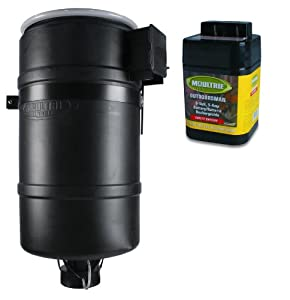 NEW! MOULTRIE 30 Gallon FeedCaster Pro Directional Pond Fish Feeder + 6V Battery