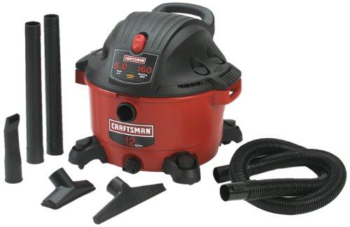 Craftsman 9-17765 12 Gallon 5.0 Peak Horsepower Wet and Dry Vacuum (Craftsman Parts Vacuum compare prices)