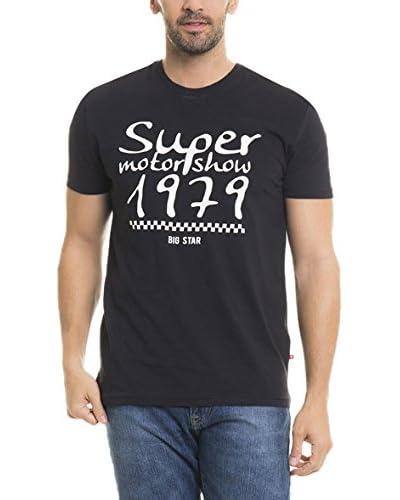 BIG STAR T-Shirt Manica Corta Nitef_Ts_Ss  [Grigio Chiaro]