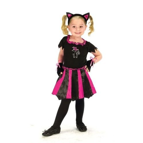 Costumes For All Occasions FW114101TL Cat Sweetheart Toddler Large 3T-4T
