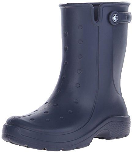 Crocs - Stivali di gomma 16010-6EN-740 Unisex - adulto, Blu (Navy), 42 (8 UK)